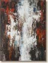 Cascade, Abstract Art Oil Painting by Curtis Verdun
