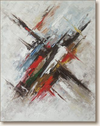 View larger image of Oil Painting on Canvas, 'Crescendo'