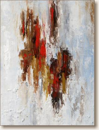 View larger image of Oil Painting on Canvas, 'Descent'