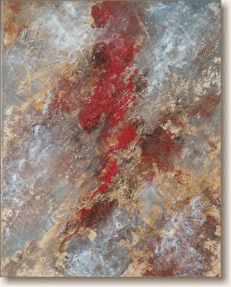 View larger image of Oil Painting on Canvas, 'Dominance'