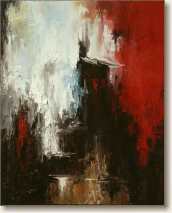 View larger image of Oil Painting on Canvas, 'Significance'