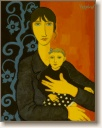 In Mother's Arms, Original Figurative Art, Oil Painting by Quincy Verdun